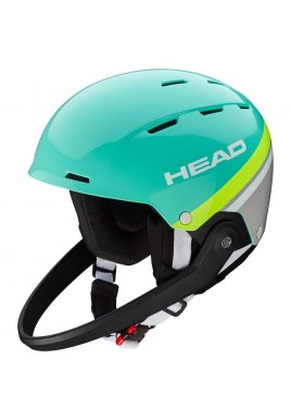 HEAD Team SL Helmet 2018/19 turquoise / grey