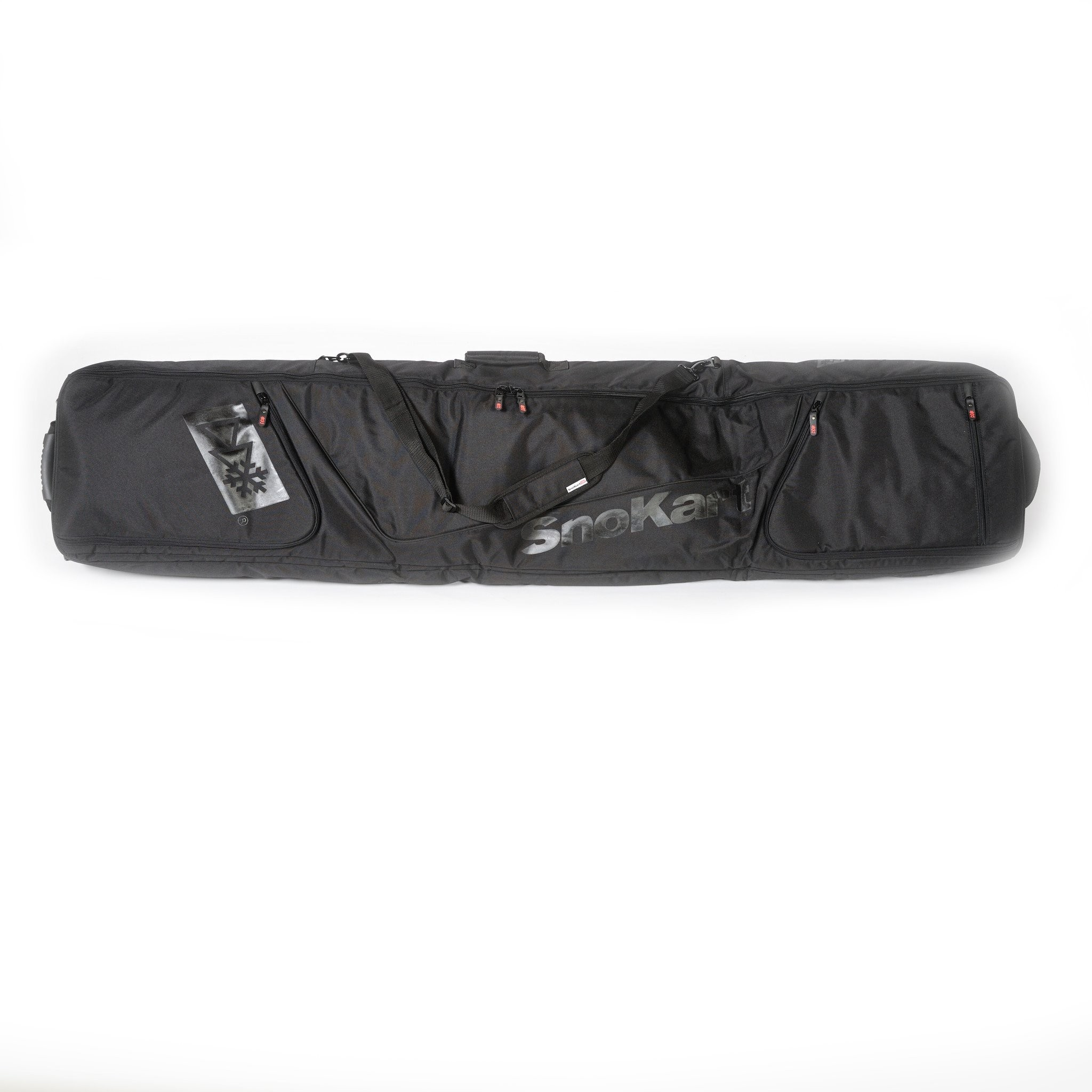 This well thought out bag offers you everything you need when taking all your snowboarding gear away on holiday.