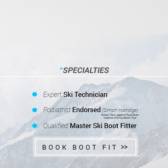 ski technician ski boot fitter
