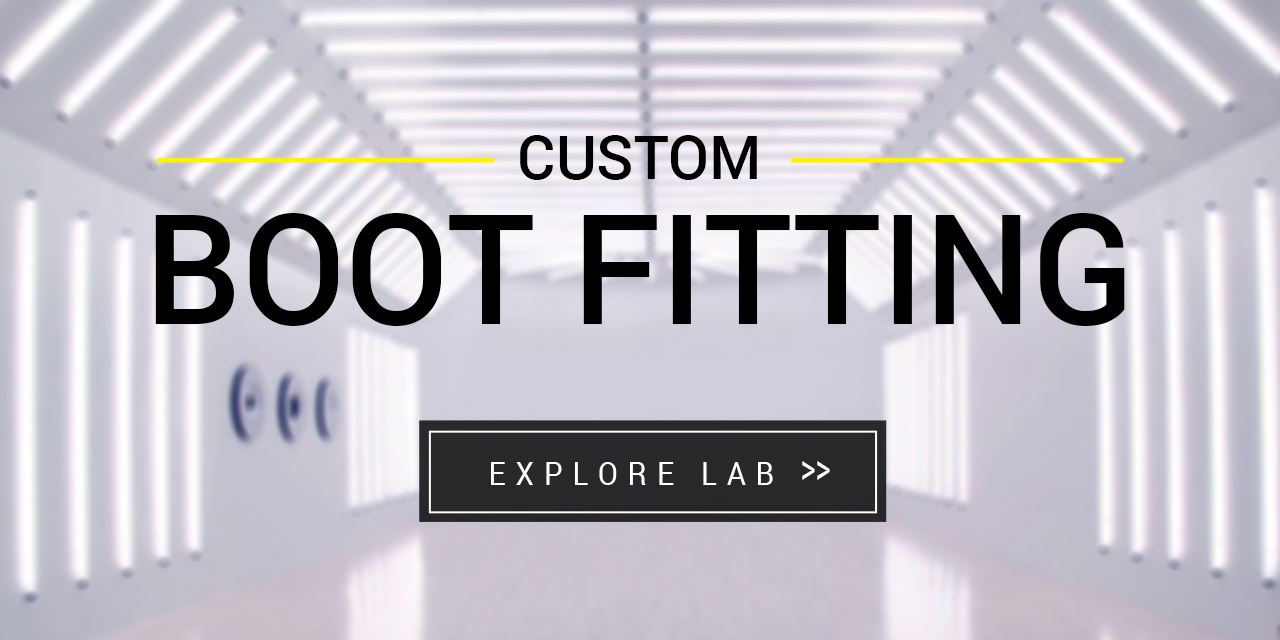custom boot fitting